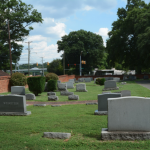 Figure 10 Photo of the Hebrew Cemetery on southside of Hospital Street.