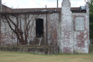 Figure 26 Abandoned Building on Richmond African Burial Ground 1
